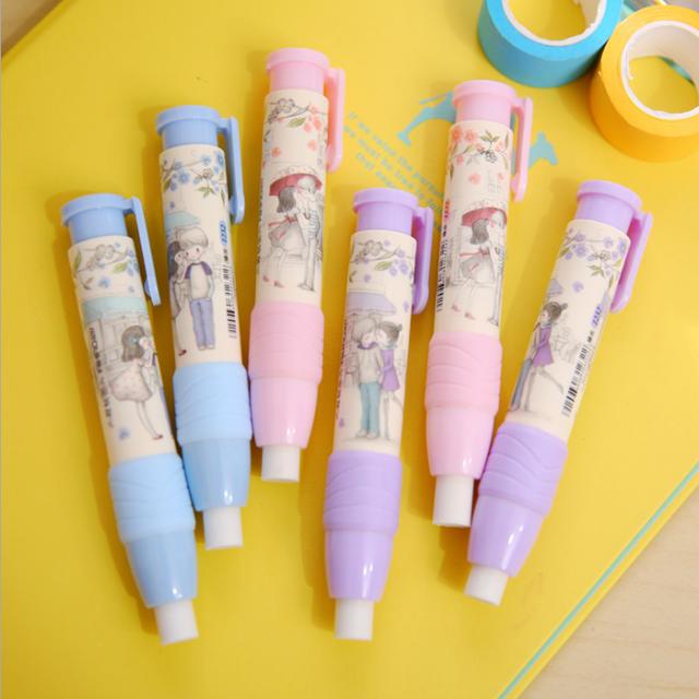 Детские канцелярские принадлежности, креативный милый мультяшный ластик для студентов