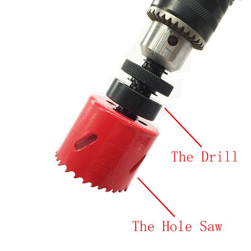 Pro 17pcs 19-68mm M42 Bi Metal Hole Saw Cutter Set Drill Bits Wood PVC Cutting