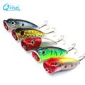 New 3D Eyes Fishing Accessories 5pcs llot 6 5 cm 13g Fishing Lure Minnow Hard Bait