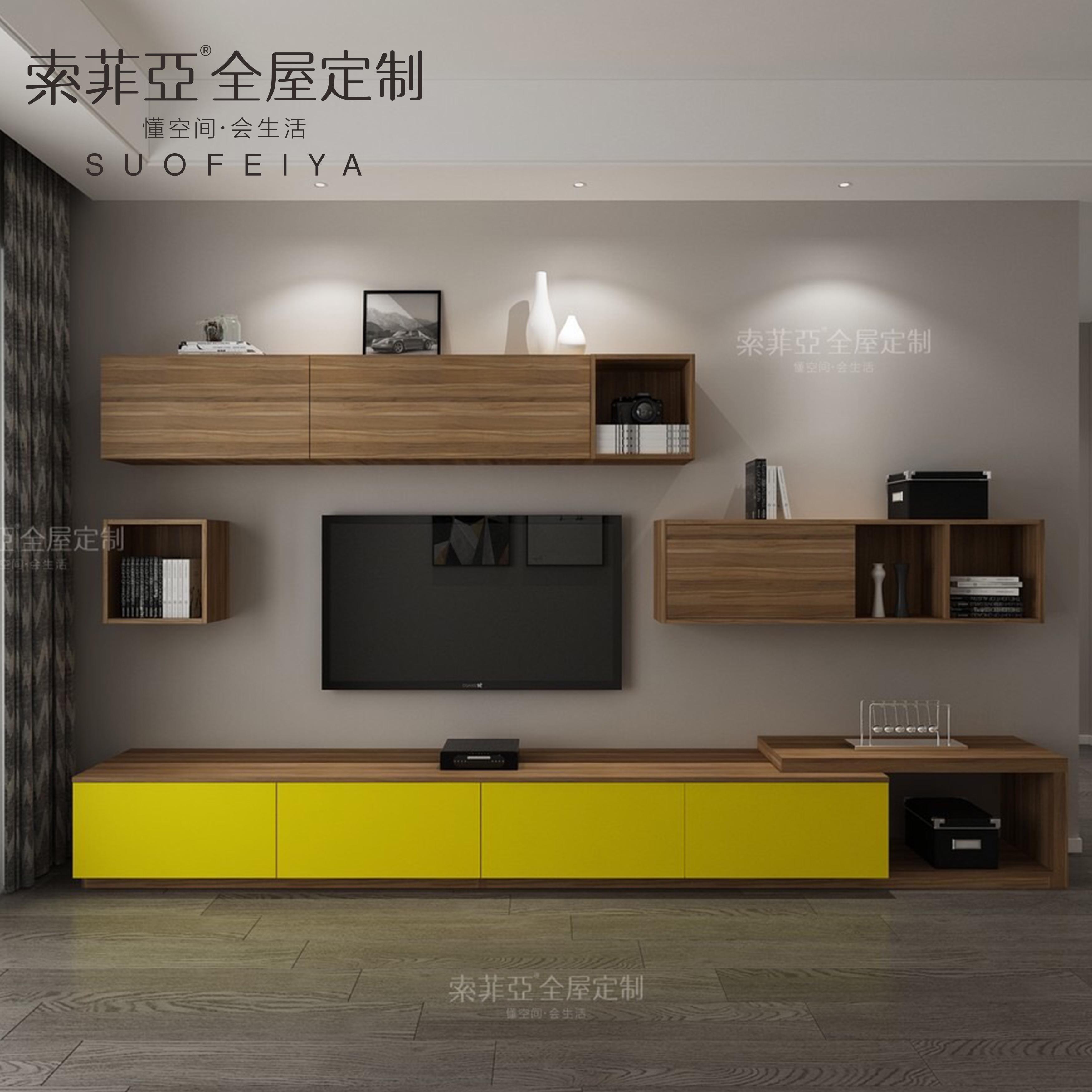 Customized Design Living Room Showcase Tv Wall Unit Furniture ...