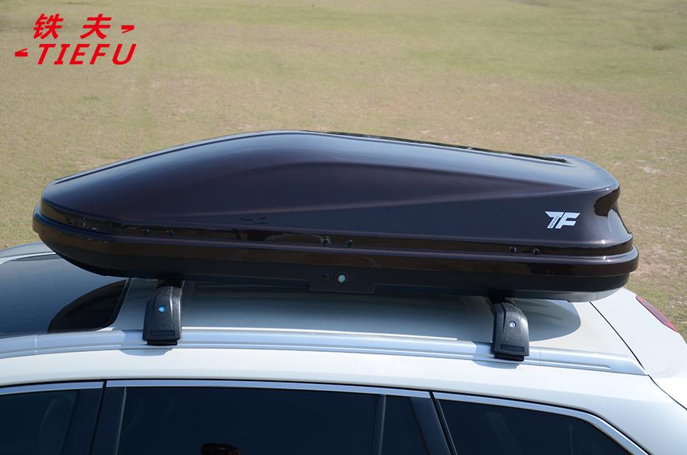 Высокопроизводительный водонепроницаемый автомобильный ящик на крышу, черный ящик для груза из АБС-пластика на крышу автомобиля