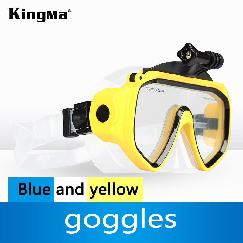 KingMa Hot Diving Sports Diving Glasses Scuba Mask Accessories For GoPro