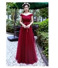 Beauty-Emily кружевные платья подружек невесты 2020 длинные для женщин Vestidos Para Festa платье без рукавов на шнуровке для свадебной вечеринки для девоч...(Китай)