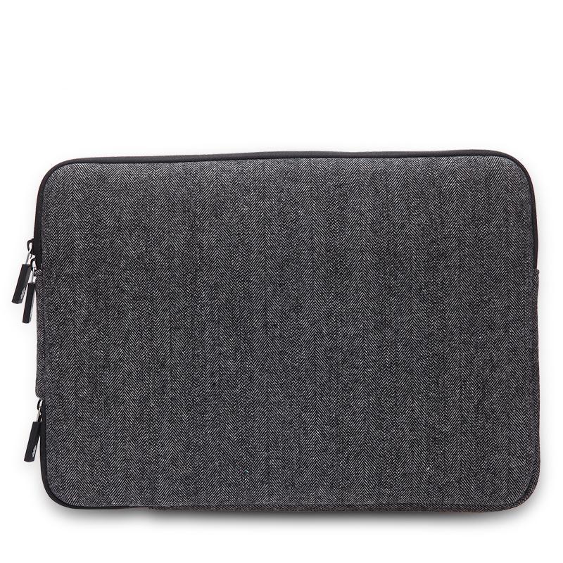 הנמכר ביותר גברים הרגשתי עמיד למים תיק מחשב נייד 13.3+מתנה חינם מקלדת כיסוי עבור ה-Macbook Air Pro 13 נייד שרוול תיק 13.3
