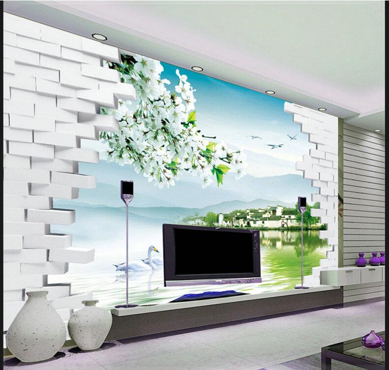 kundenspezifische 3d fototapete 3d wandbilder wallpaper ...