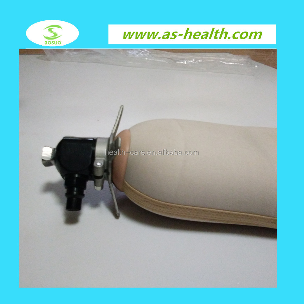 prosthetic shuttle lock for artificial limbs silicone liner