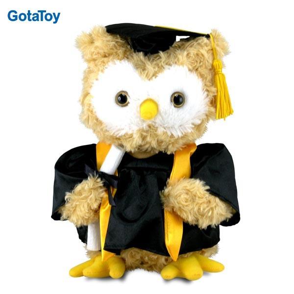 Búho De Peluche De Graduación Personalizado Juguete Suave De Nuevo Diseño Buy La Graduación De Peluche Búho Product On Alibaba Com