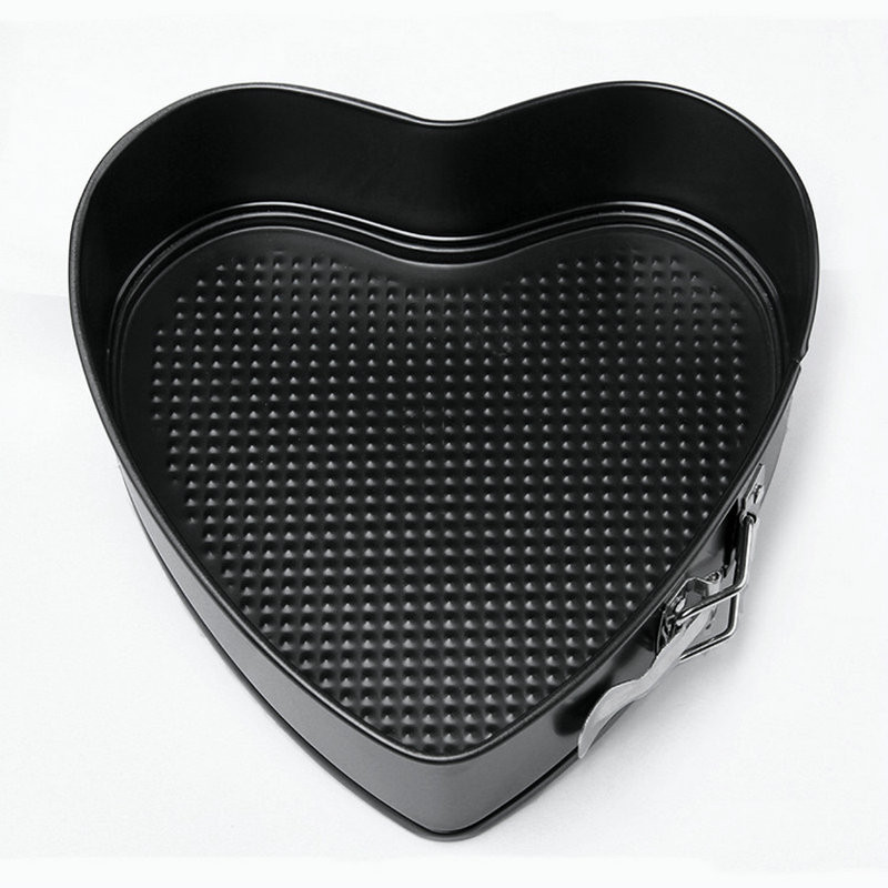 2019 Amw 9 Inch Heart Shape Removable Bottom Baking Pan
