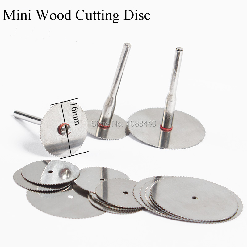 10x 16mm Wood cutting disc dremel rotary tools circular saw blade