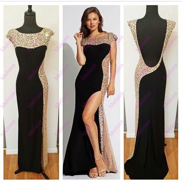 Robe-De-Soiree-Elegant-Long-Black-Evenin