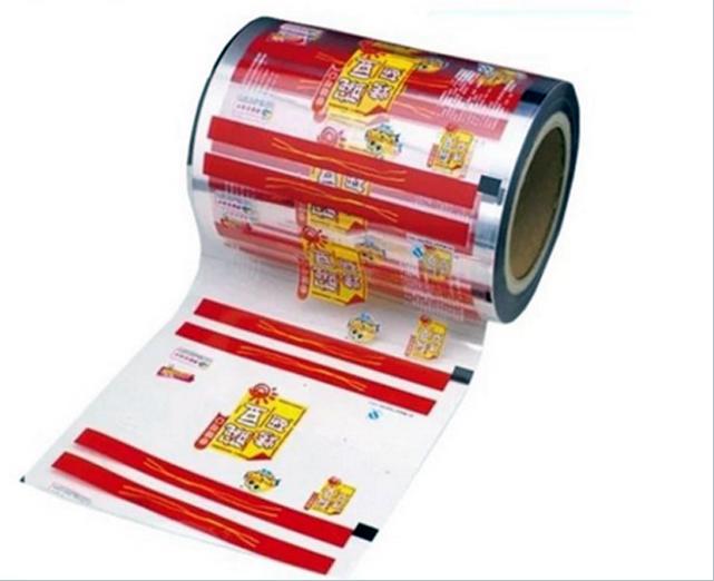 Цветная Заказная глубокой печати OPP рулон пленки для упаковки пищевых продуктов