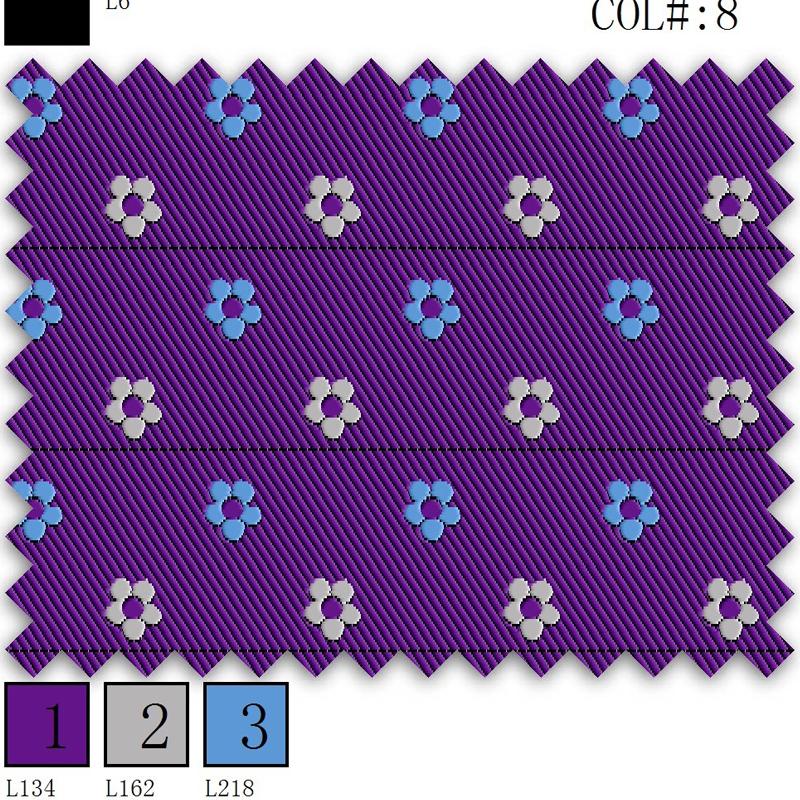 100% Polyester Twill Jacquard Corbata Neckties Print Fabric for Corbatas Woven Garment Waterproof PE Bag YARN DYED 1200 Needles