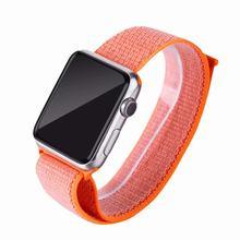 Роскошный легкий дышащий нейлоновый спортивный ремешок для Apple Watch Series 3 2 1 42 мм 38 мм для iWatch 123 ремешок для часов Sport Loop(Китай)