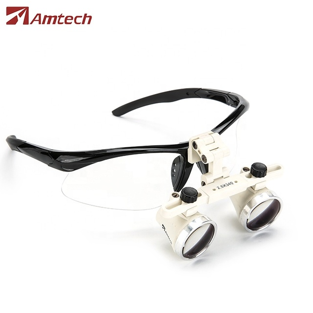 GL5 2.5x Galilean Flip up Surgical Amtech Loupes