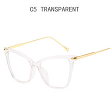 Новая оправа для очков в стиле кошачьи глаза женские брендовые ретро оптические очки оправа скульптурная оправа для очков женские прозрачн...(Китай)