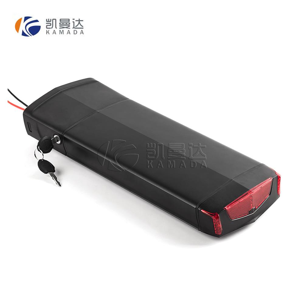 Rechargeable 48v 10ah 13ah 14ah 17ah 20ah rear back lithium ion battery for E-bike 48v