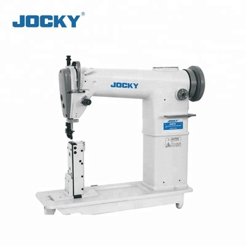 JK810 Industrial Sewing Machine For Shoes, Post Bed Sewing Machine