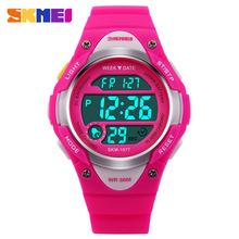 11.11特惠 US $7.93 ** SKMEI兒童運動數字手錶