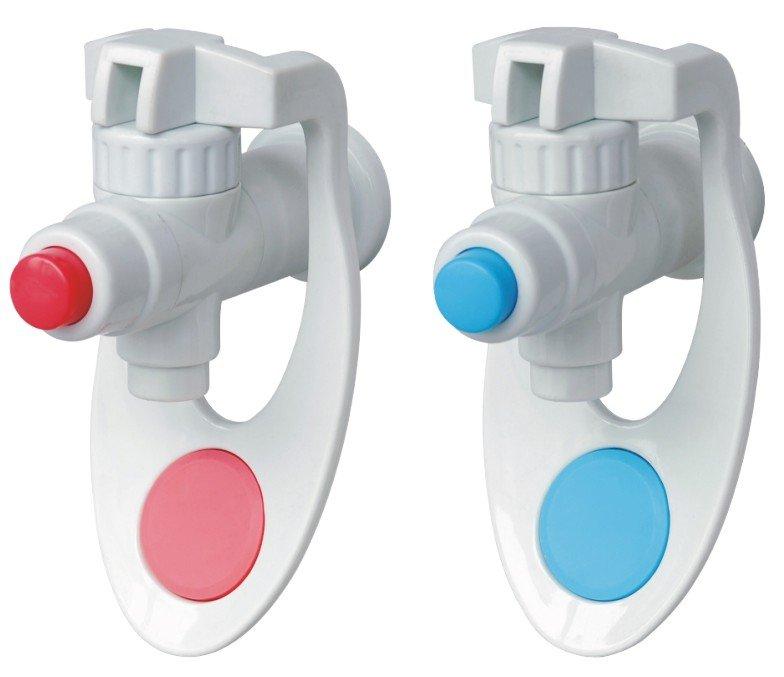 common plastic water dispenser tap
