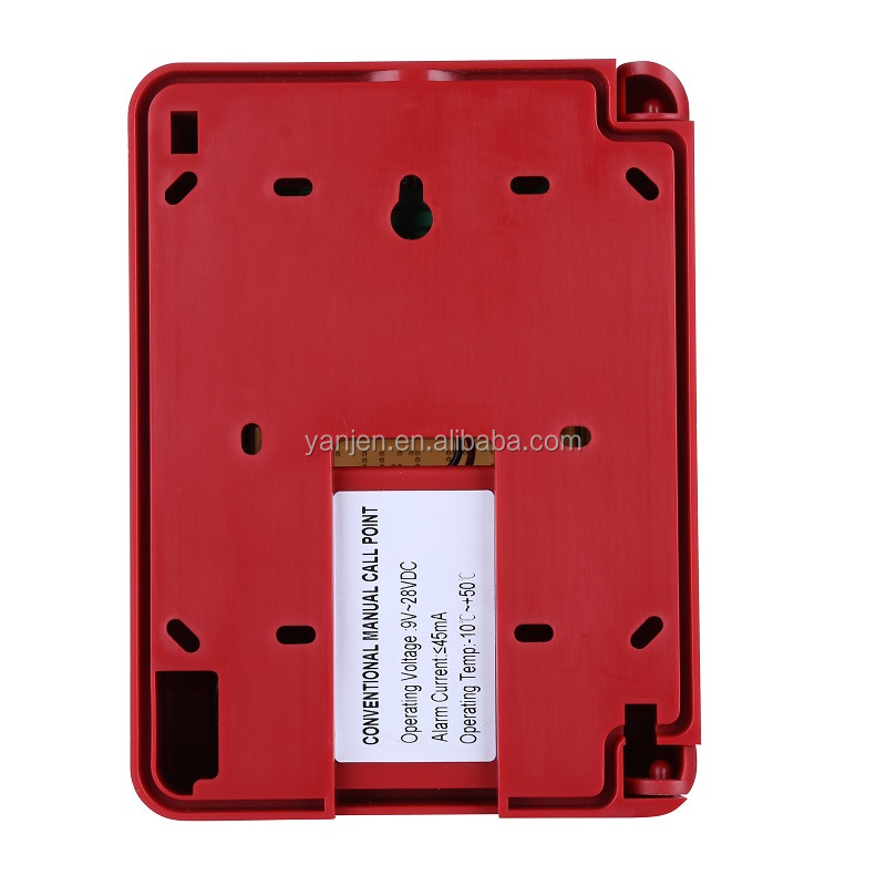 13 years factory resettable fire security  system manual pull station