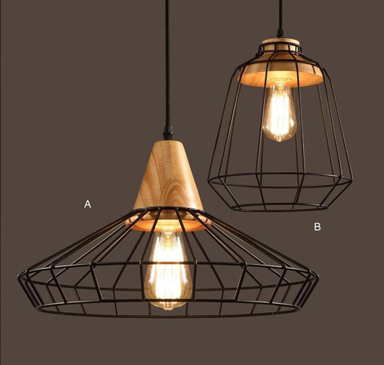 Bar Light Fixtures: Loft Industrial Vintage Pendant Lights Bar Kitchen Home