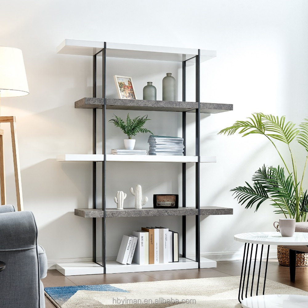 good quality high gloss MDF bookcase