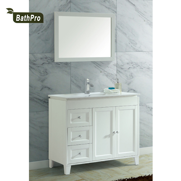 40 Inch White Ceramic Single Sink Solid Wood Lowes Vanity Bathroom Vanity Buy Solid Wood Lowes Vanity Bathroom Vanity Combo Single Sink Lowes Vanity Bathroom Vanity Combo 40 Inch White Ceramic Lowes Vanity
