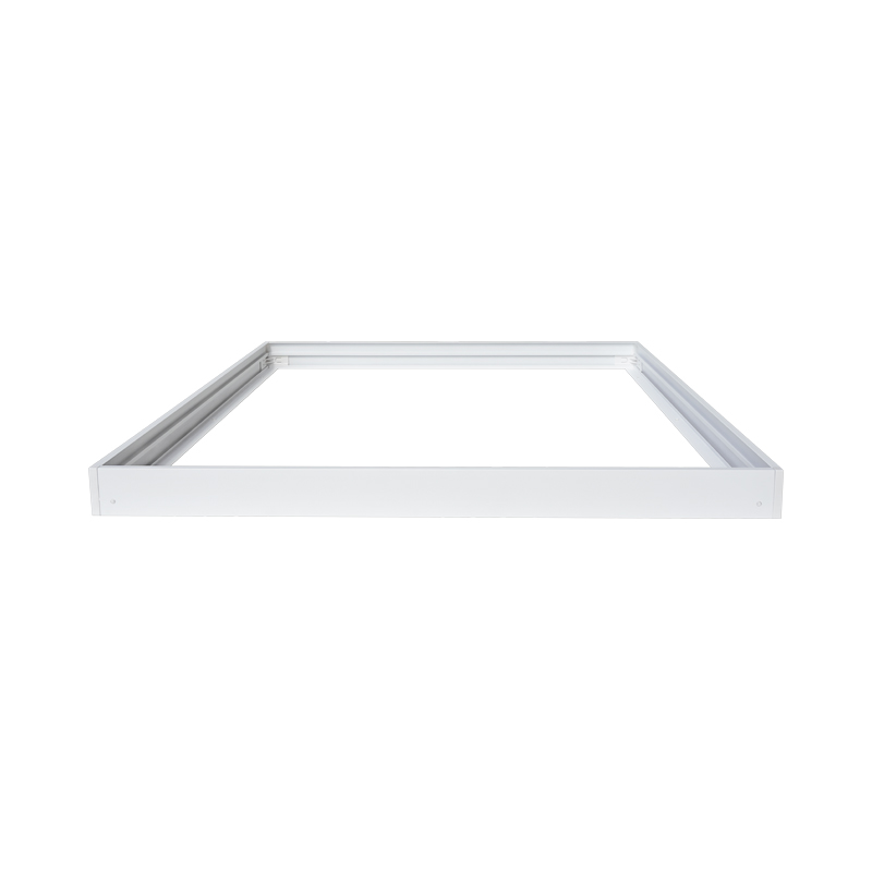 extrusion aluminum surface mount box compatible with 600 x 600 led Panels as ceiling frame