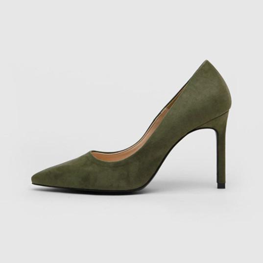 Высококачественный материал подкладки из микрофибры, износостойкая резиновая подошва, винного цвета, Классическая обувь, женская обувь на цветном каблуке