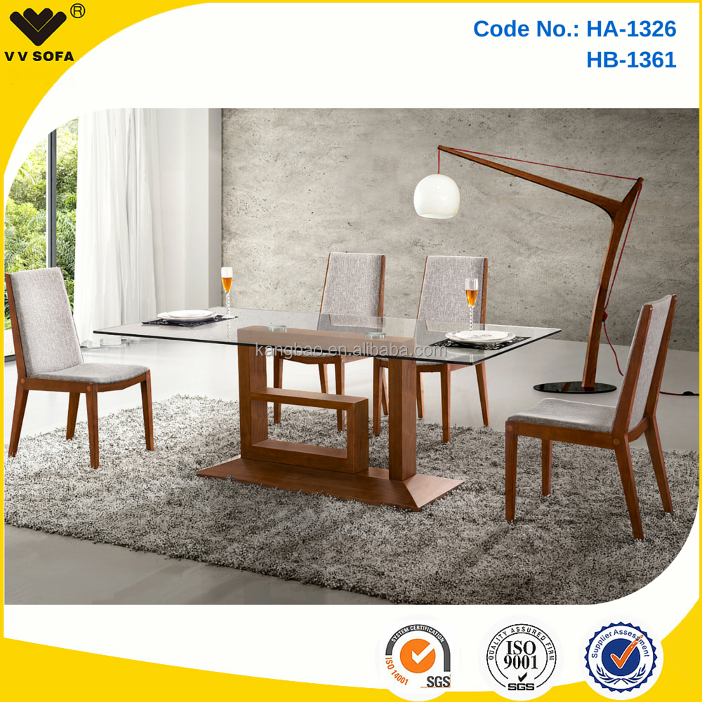 Kangbao Latest Wooden Dining Table With Glass Top Designs Glass Dining Table Buy Glass Dining Table Wooden Dining Table Wooden Dining Table With Glass Top Designs Product On Alibaba Com