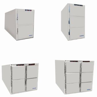 Лабораторный и больничный криогенный холодильник для трупов из нержавеющей стали 201