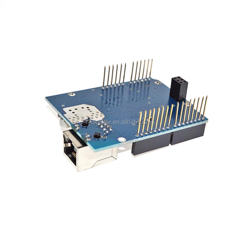 Okystar OEM Ethernet W5100 shield network expansion board Ethernet module