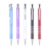 2018 best price blue or black ink click metal multi color mechanism winning ball pen with custom logo