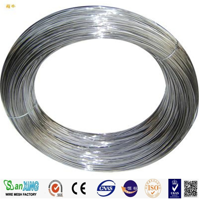 Factory price bright 201 304 grade stainless steel wire for sale