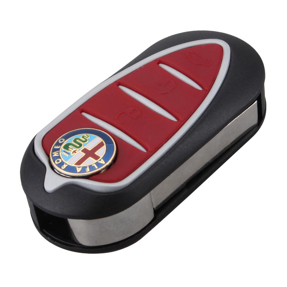 BRAND NEW Folding Flip Remote Key Shell 3 Button for Alfa Romeo Mito Giulietta 159 GTA
