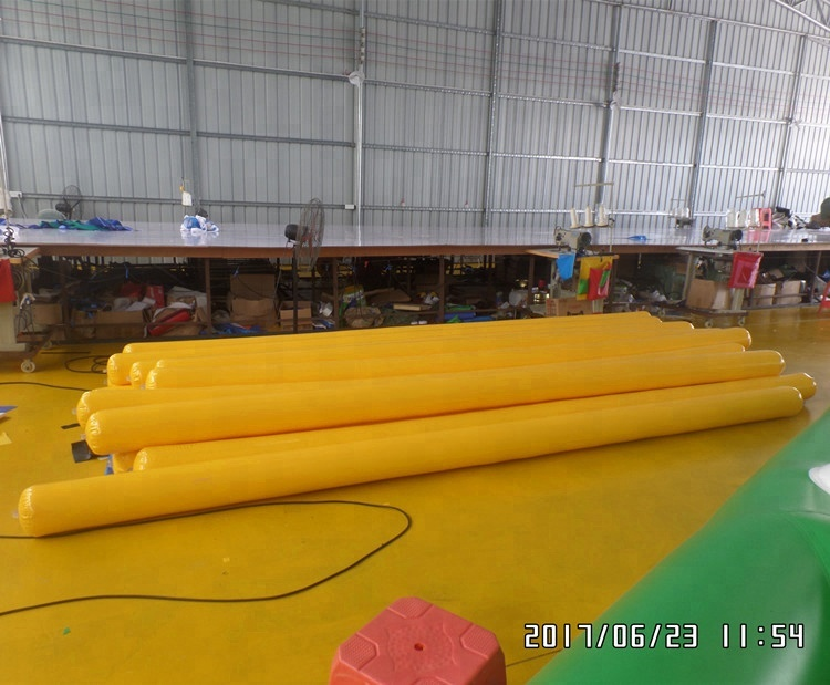 Inflatable Floating Pontoon For Water Park PVC Tarpaulin Safe Water Tubes