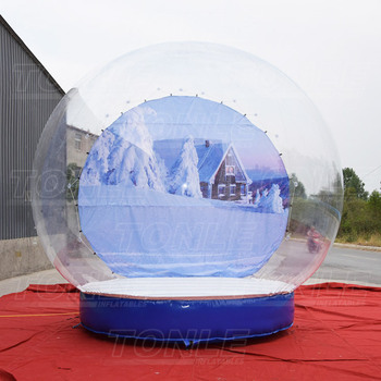 Giants inflatable snow globe for sale