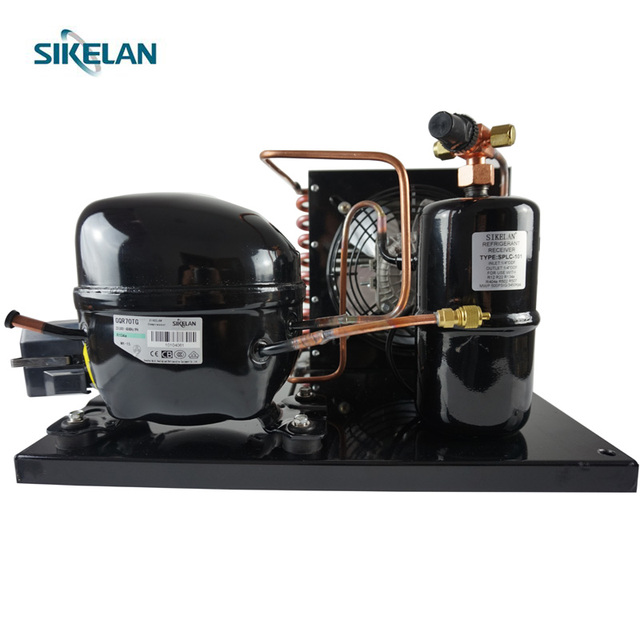 R134a Compressor Condensing Unit For Light Commercial Kitchen Freezer,Showcase,Refrigeration Storage