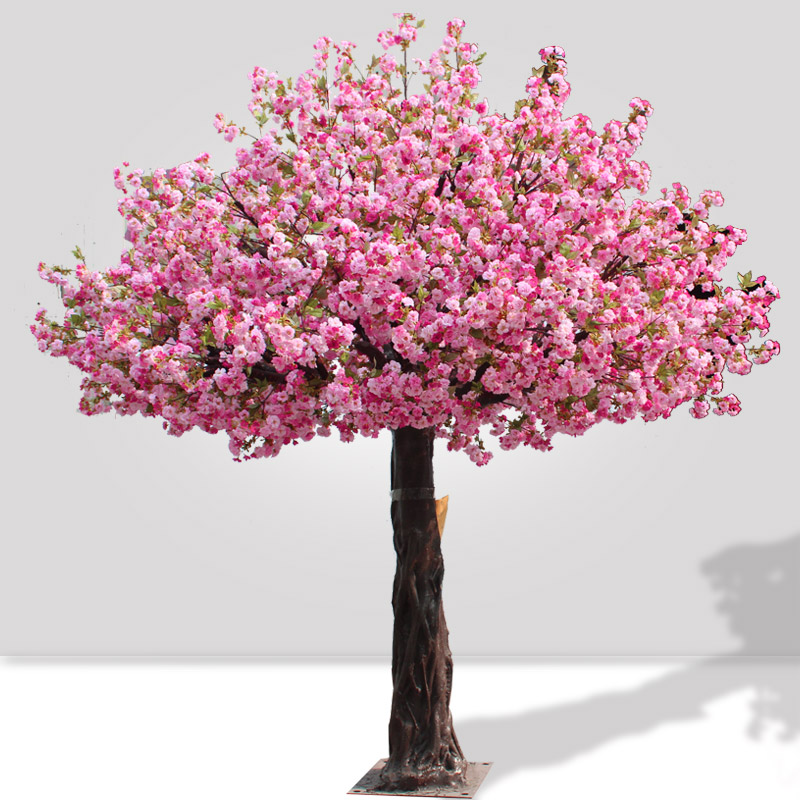 Big Artificial Cherry Tree 14ft Pink Color For Landscaping Decoration Buy Cherry Blossom Tree Fake Cherry Blossom Trees Silk Cherry Blossom Trees Product On Alibaba Com