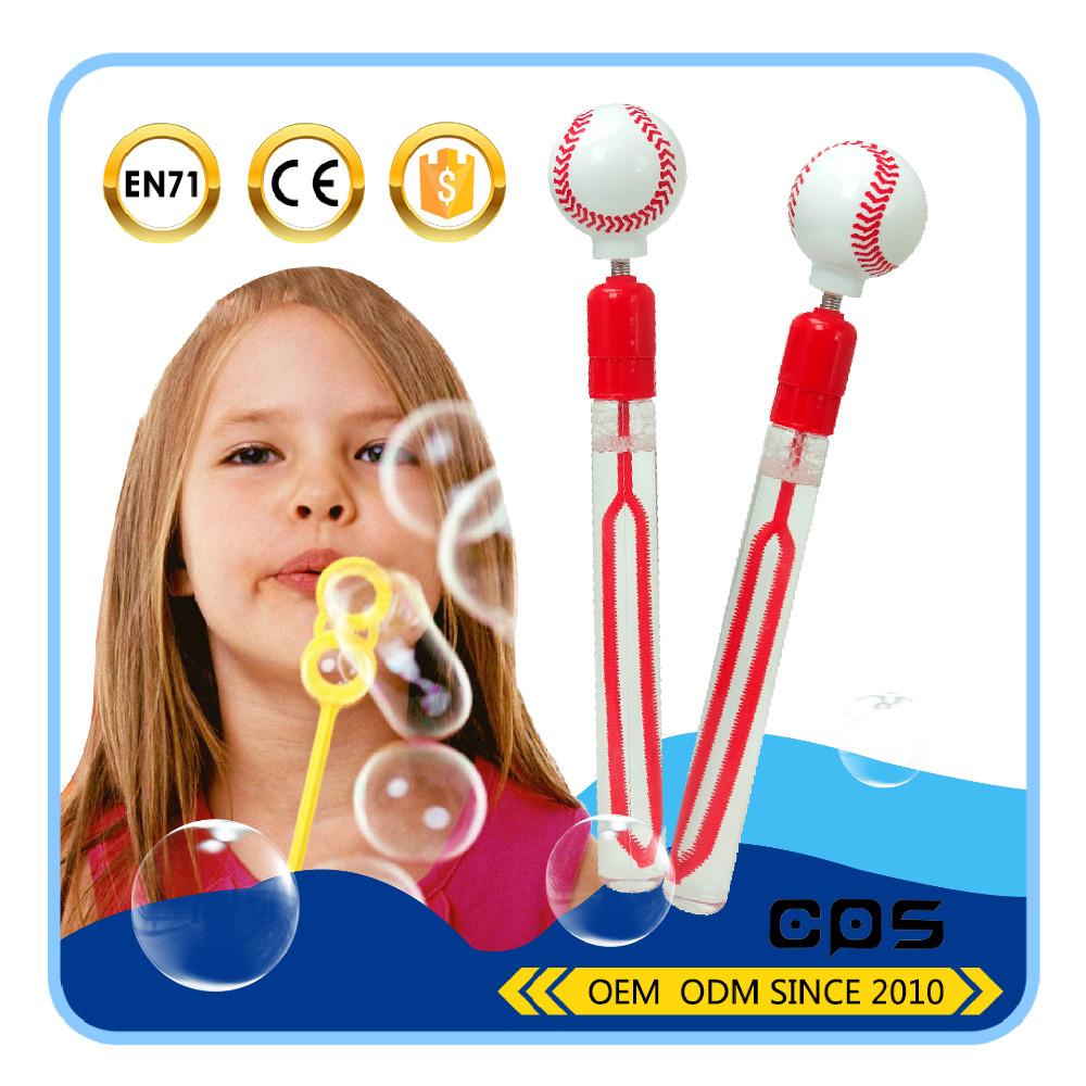 baseball shaped bubble games toys soap bubble