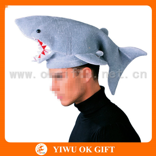 3D velour shark hat shark costume animal shaped hat.jpg  sc 1 st  Alibaba & 3d Velour Shark HatShark CostumeAnimal Shaped Hat - Buy Shark Hat ...