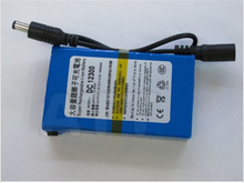 Portable 12V 3000mAh Rechargeable Li-ion Battery Batteries Pack for RC 2.4G 5.8G FPV TX RX CCTV Camera Free Shipping