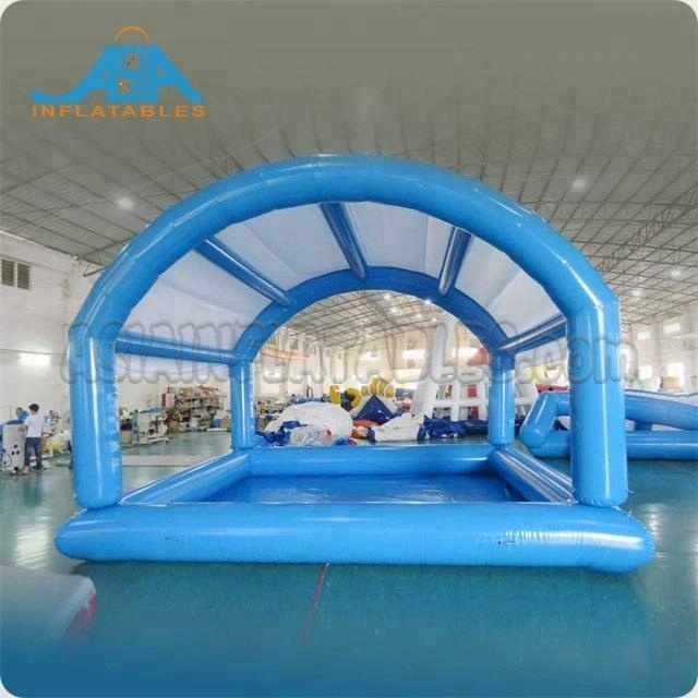 Inflatable Pool with Roof, Inflatable Swimming Pools For Kids Water Game