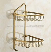 Античное Латунное оборудование для ванной комнаты, Полка для полотенец, держатель для бумаги, тканевый крючок, аксессуары для ванной комнат...(Китай)