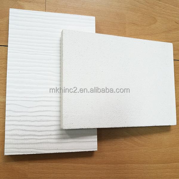 Заводская дешевая цена, декоративные высокопрочные огнестойкие панели белого цвета из древесины Mgo для наружных стен