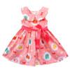 Red peter pan collar dress pattern
