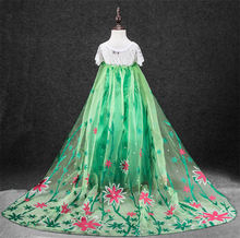 fasion nice child girl dresses princess dress for girls cinderella costumes child 2015 fancy dress kids