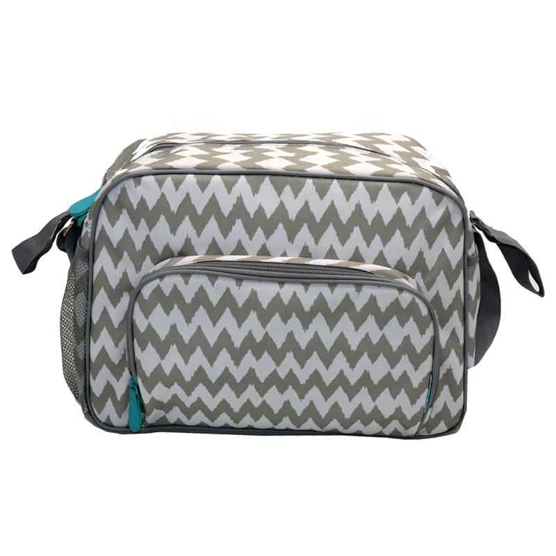 Diaper bag Large Capacity Trendy Multifunctional Printed Baby Bags Diaper Shoulder Bag For Mother