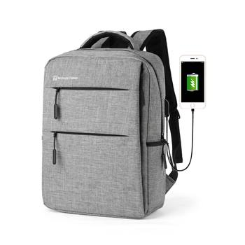 Mochila Slim Waterproof Smart Bagpack Mens back bags business usb laptop Backpack with Charger