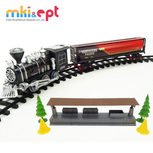 Cool Train Railway Toys Plastic ABS Toy Electric Car Track Car Toy